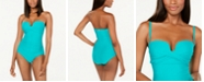 Calvin Klein Strapless Tummy Control One-Piece Swimsuit