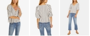 Sanctuary Modern Summer Striped Shirt