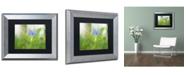 """Trademark Global PIPA Fine Art 'Asiatic Dayflower' Matted Framed Art - 11"""" x 14"""""""