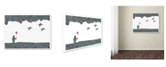 "Trademark Global Viz Art Ink 'Childhood Dreams' Canvas Art - 14"" x 19"""
