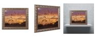 """Trademark Global Jason Shaffer 'Weeds' Ornate Framed Art - 14"""" x 11"""""""