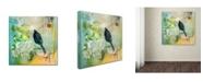 "Trademark Global Wyanne 'Morning Light' Canvas Art - 14"" x 14"""