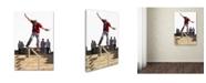 "Trademark Global The Macneil Studio 'Skateboard' Canvas Art - 12"" x 19"""