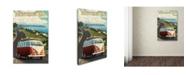 "Trademark Global Lantern Press 'Travel 43' Canvas Art - 12"" x 19"""