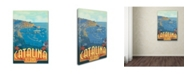 "Trademark Global Lantern Press 'Island' Canvas Art - 12"" x 19"""