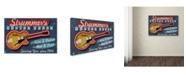 "Trademark Global Lantern Press 'Music 1' Canvas Art - 12"" x 19"""
