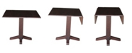 """International Concepts 36"""" Square Dual Drop Leaf Dining Table"""