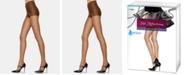 Hanes Silk Reflections 6 Pack Control Top Silky Sheer Pantyhose