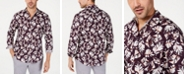 INC International Concepts INC Men's Autumn Leaves Shirt, Created for Macy's