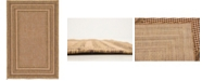 "Bridgeport Home Pashio Pas6 Brown 3' 3"" x 5' Area Rug"