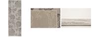 "Bridgeport Home Pashio Pas5 Gray 2' 2"" x 6' Runner Area Rug"