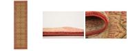 """Bridgeport Home Wilder Wld6 Red 2' 7"""" x 10' Runner Area Rug"""