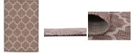 Bridgeport Home Pashio Pas5 Brown 4' x 6' Area Rug