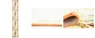 Bridgeport Home Politan Pol1 Ivory 2' x 13' Runner Area Rug