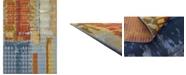 "Bridgeport Home Pashio Pas1 Multi 8' x 11' 4"" Area Rug"