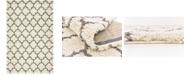 Bridgeport Home Fazil Shag Faz4 Ivory 5' x 8' Area Rug