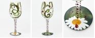 Enesco Lolita Ladybug Wine Glass