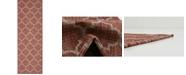 Bridgeport Home Pashio Pas5 Rust Red 2' x 6' Runner Area Rug