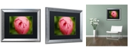 "Trademark Global PIPA Fine Art 'Peony Bud' Matted Framed Art - 16"" x 20"""