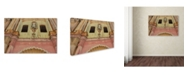 "Trademark Global Masters Fine Art 'Church in Havana' Canvas Art - 16"" x 24"""