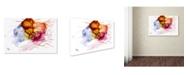 "Trademark Global Mako 'Abstract 04' Canvas Art - 24"" x 16"""