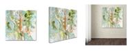 "Trademark Global Wyanne 'New Light' Canvas Art - 18"" x 18"""
