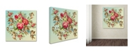 "Trademark Global Mark Ashkenazi 'Roses 2' Canvas Art - 18"" x 18"""