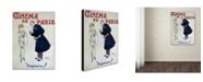 "Trademark Global Vintage Apple Collection 'Cinema De Paris' Canvas Art - 18"" x 24"""