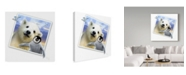 "Trademark Global Howard Robinson 'Polar Bear Photograph' Canvas Art - 18"" x 18"""