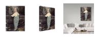 "Trademark Global Sharon Forbes 'Tylers Wagon' Canvas Art - 18"" x 24"""