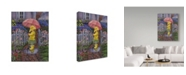 "Trademark Global Tricia Reilly-Matthews 'Better Together' Canvas Art - 18"" x 24"""