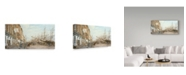 "Trademark Global Jack Wemp 'South Street East River' Canvas Art - 19"" x 10"""