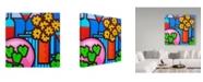 "Trademark Global John Nolan 'Still Life With Seven Apples' Canvas Art - 18"" x 18"""