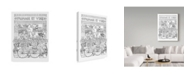 "Trademark Global Jessica Putnam 'Fromage Et Vins' Canvas Art - 24"" x 32"""