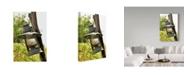 "Trademark Global Incredi 'Metal Lamp' Canvas Art - 12"" x 19"""