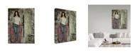 "Trademark Global Janelle Nichol 'Its Her Beauty' Canvas Art - 18"" x 24"""
