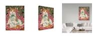 "Trademark Global Jan Benz 'Too Much Egg Nog' Canvas Art - 18"" x 24"""