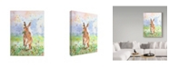 "Trademark Global Jane Hinchliffe 'Hare Today' Canvas Art - 24"" x 32"""