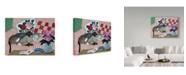 "Trademark Global Jan Panico 'Mink And Jezebel' Canvas Art - 24"" x 18"""