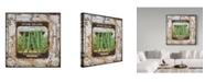"Trademark Global Jean Plout 'Tin Tile-Beans' Canvas Art - 24"" x 24"""