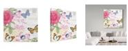 """Trademark Global Jean Plout 'Summer Postcard 1' Canvas Art - 18"""" x 18"""""""