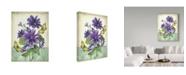 """Trademark Global Jean Plout 'Summertime Botanicals 3' Canvas Art - 14"""" x 19"""""""