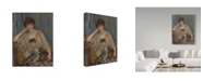 "Trademark Global Pierre Auguste Renoir 'Portrait Of Misia Godebska-Sert, 1904' Canvas Art - 18"" x 24"""