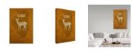 "Trademark Global Red Atlas Designs 'State Animal Illinois' Canvas Art - 12"" x 19"""