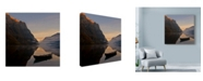 "Trademark Global Maciej Duczynski 'Mountain Rustic Norway 2' Canvas Art - 24"" x 24"""