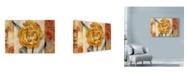"""Trademark Global Marietta Cohen Art And Design 'Golden Blossom 2' Canvas Art - 24"""" x 16"""""""