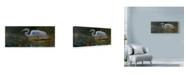 "Trademark Global Michael Jackson 'Egret White' Canvas Art - 19"" x 8"""