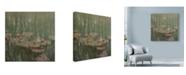 "Trademark Global Michael Jackson 'Refllections' Canvas Art - 14"" x 14"""