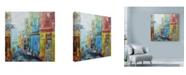 "Trademark Global Solveiga 'Procida' Canvas Art - 14"" x 14"""