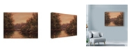 "Trademark Global Wanda Mumm 'Sunrise Lake' Canvas Art - 19"" x 14"""